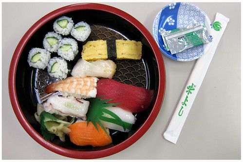 Sushi set by melmok