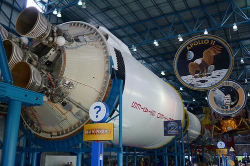 Saturn V: Triebwerke der 2. Stufe