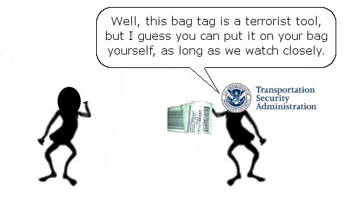 TSA Lets You Tag Your Bag