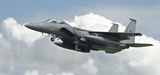 F15 Take Off