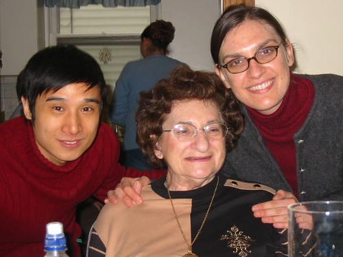 John and I with my grandmother