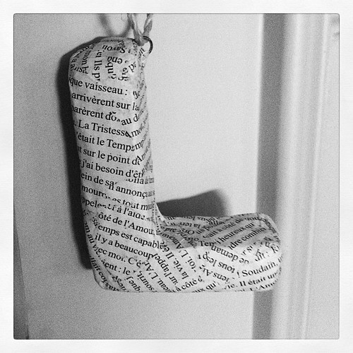 {Day 11} on L's door... #letter #julyphotoaday