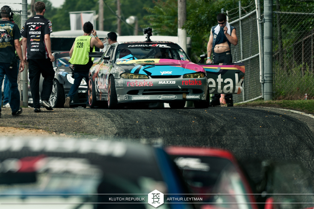 yaer retaks nissan silvia s13 drifting at formula drift the wall new jersey 3pc wheels static airride low slammed coilovers stance stanced hellaflush poke tuck negative postive camber fitment fitted tire stretch laid out hard parked seen on klutch republik
