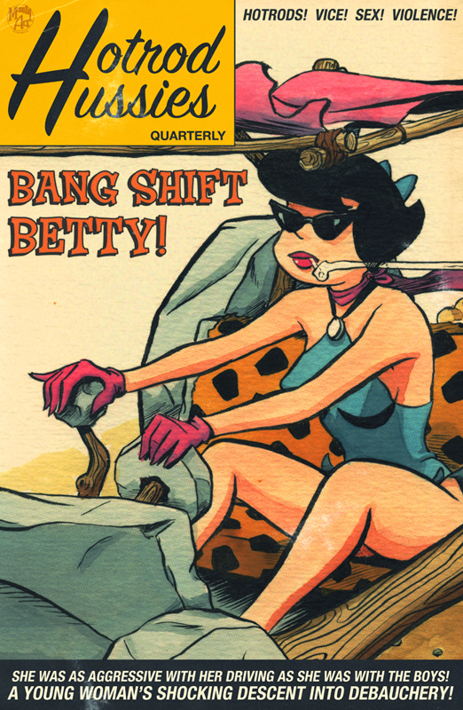 Bang Shift Betty Print