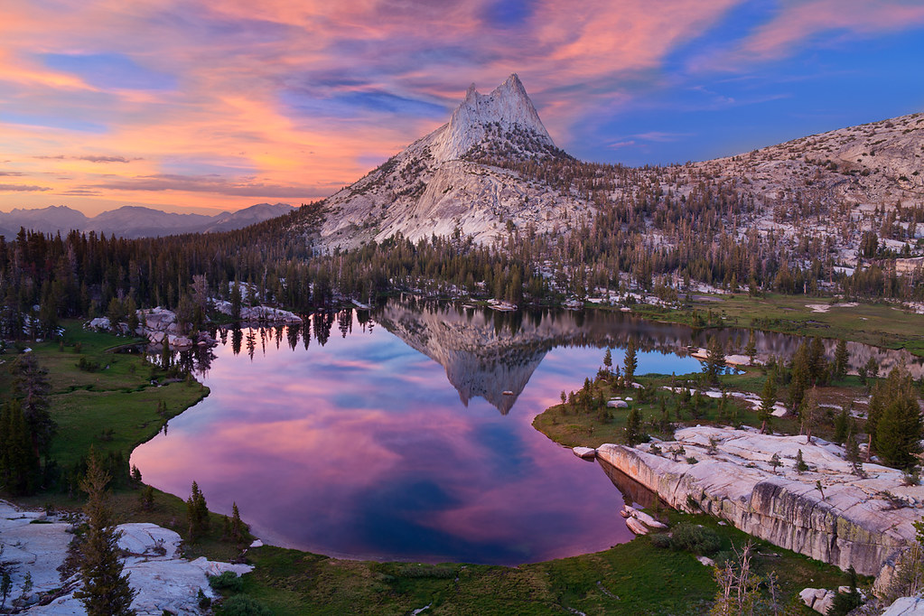 Cathedral Lake Yosemite