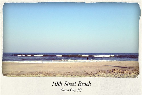 On the sand...Ocean City