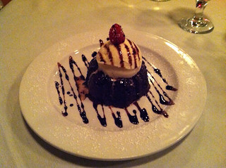 Chocolate Lava Cake at Michael John's Restaurant, Bradenton FL