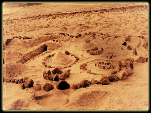 faery rings mounds on the beach photo 3