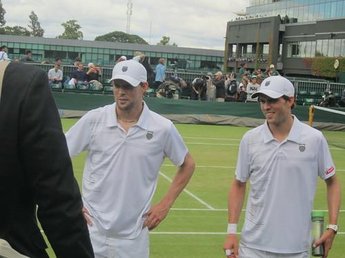 Wimbledon 2012 Bryan & Bryan
