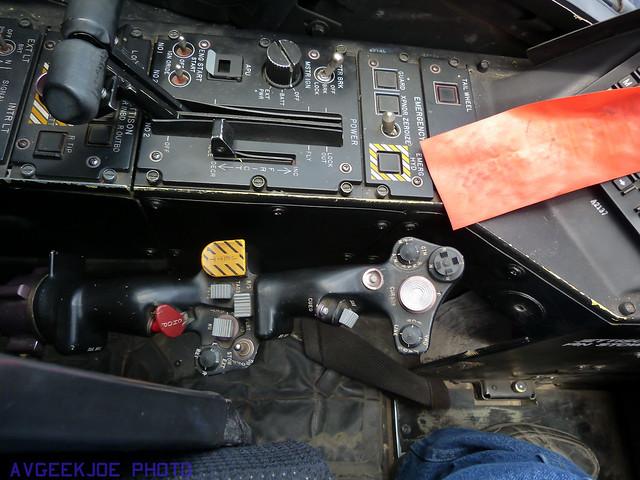 Apache Cockpit Left Side