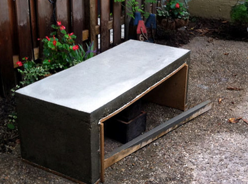 Reader Submission Mason Concrete Coffee Table DIY Del Ray