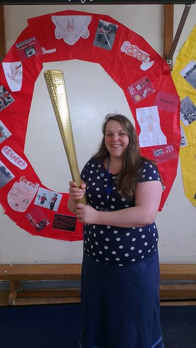 OLYMPIC TORCH!
