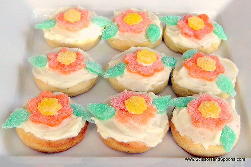 Candy Flower Cookies