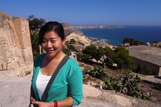 Hola Alicante~ 阿利坎特。地中海的熱度 Castillo de Santa Barbara 聖巴巴拉城   R1043645
