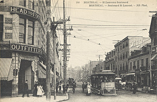St. Lawrence Boulevard, Montreal, QC, about 1910