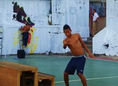 Arte y deporte en el Casco Antiguo de Panamá...