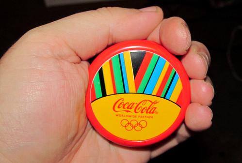 2012 ioio medal promo London Olympics Coca-Cola Rio de Janeiro Brazil by roitberg