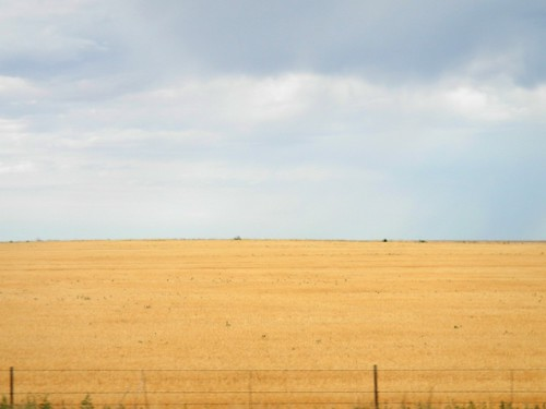 Colorado is very dry and bare
