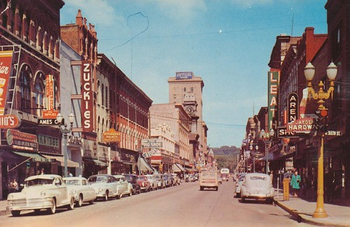 Main Street - Dubuque, Iowa by The Pie Shops Collection