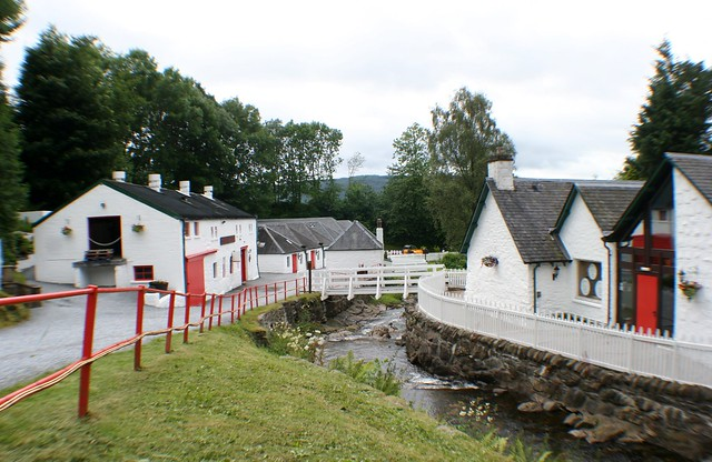 Edradour Distillery, Perthshire, Scotland