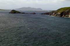 Blasket Islands off the coast of Dingle Peninsula