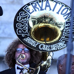 Newport Folk Fest 2012: Press Hall Jazz Band