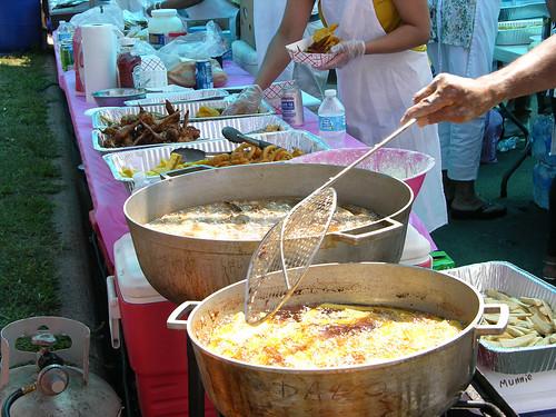 Carifest 2012 food preperation