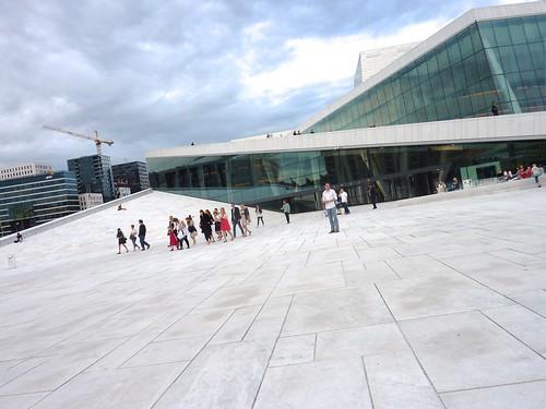 Oslo (NO) - Opera House Roof
