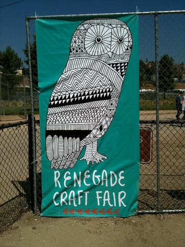 shopping at Renegade Craft Fair LA