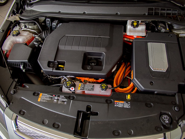 Chevy Volt Hood Open