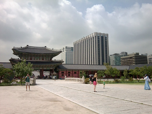 Old and new, Seoul