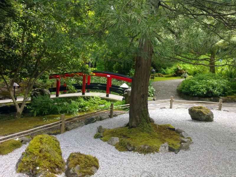 Japanese garden en jardines Butchart Canada 29