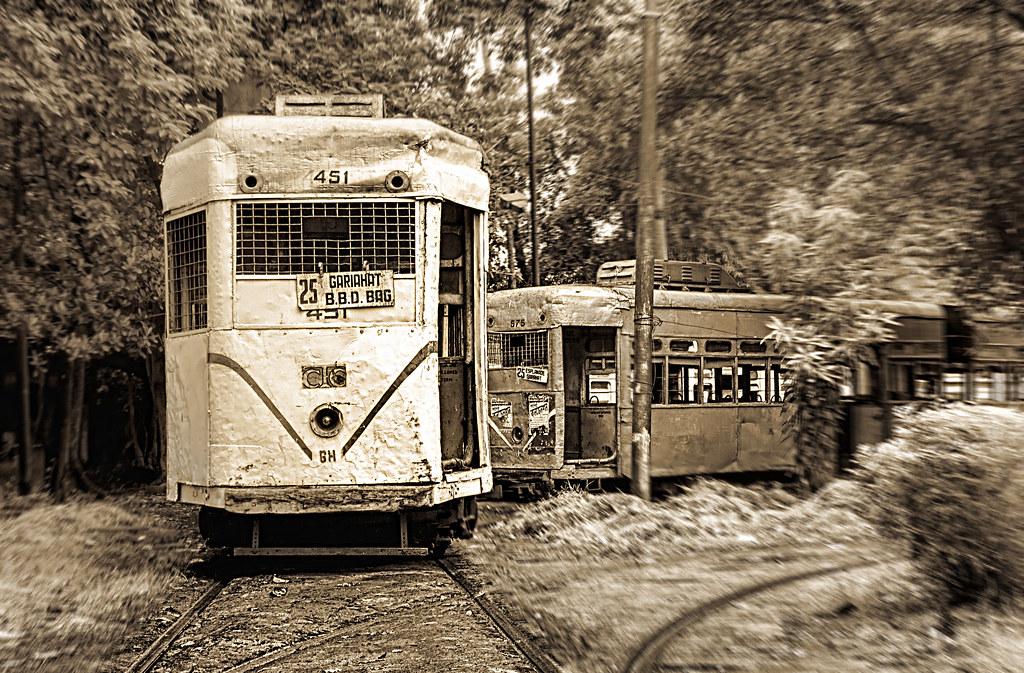 Tattered trams!
