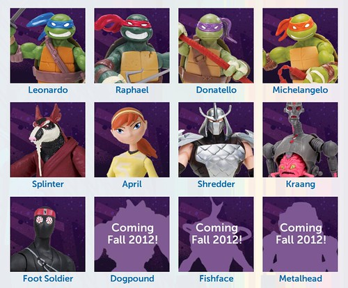 Ninja Turtles Dogpound and Fishface
