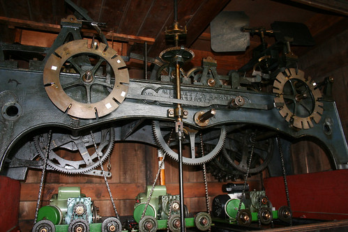 The clock mechanism