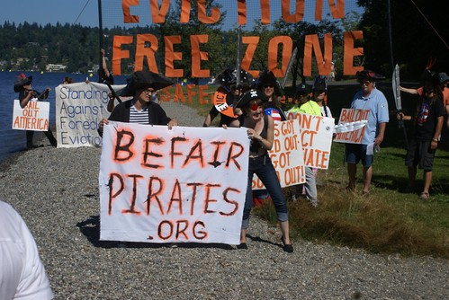 Eviction Free          Zone beach