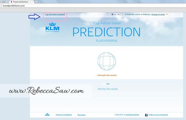 KLM travelpredictions com - page 1