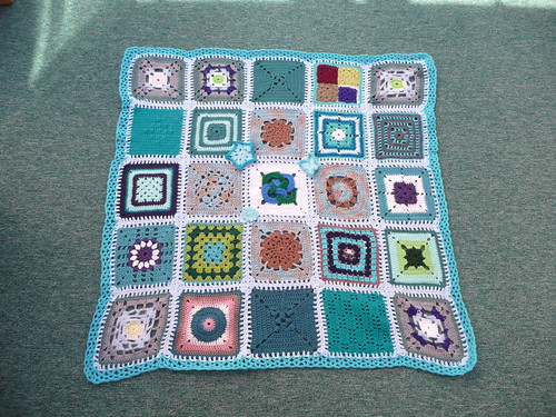 Thanks to everyone for these gorgeous Squares.