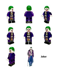 LEGO Joker Minifigure of Suicide Squad Ver. by HOBBYBRICK