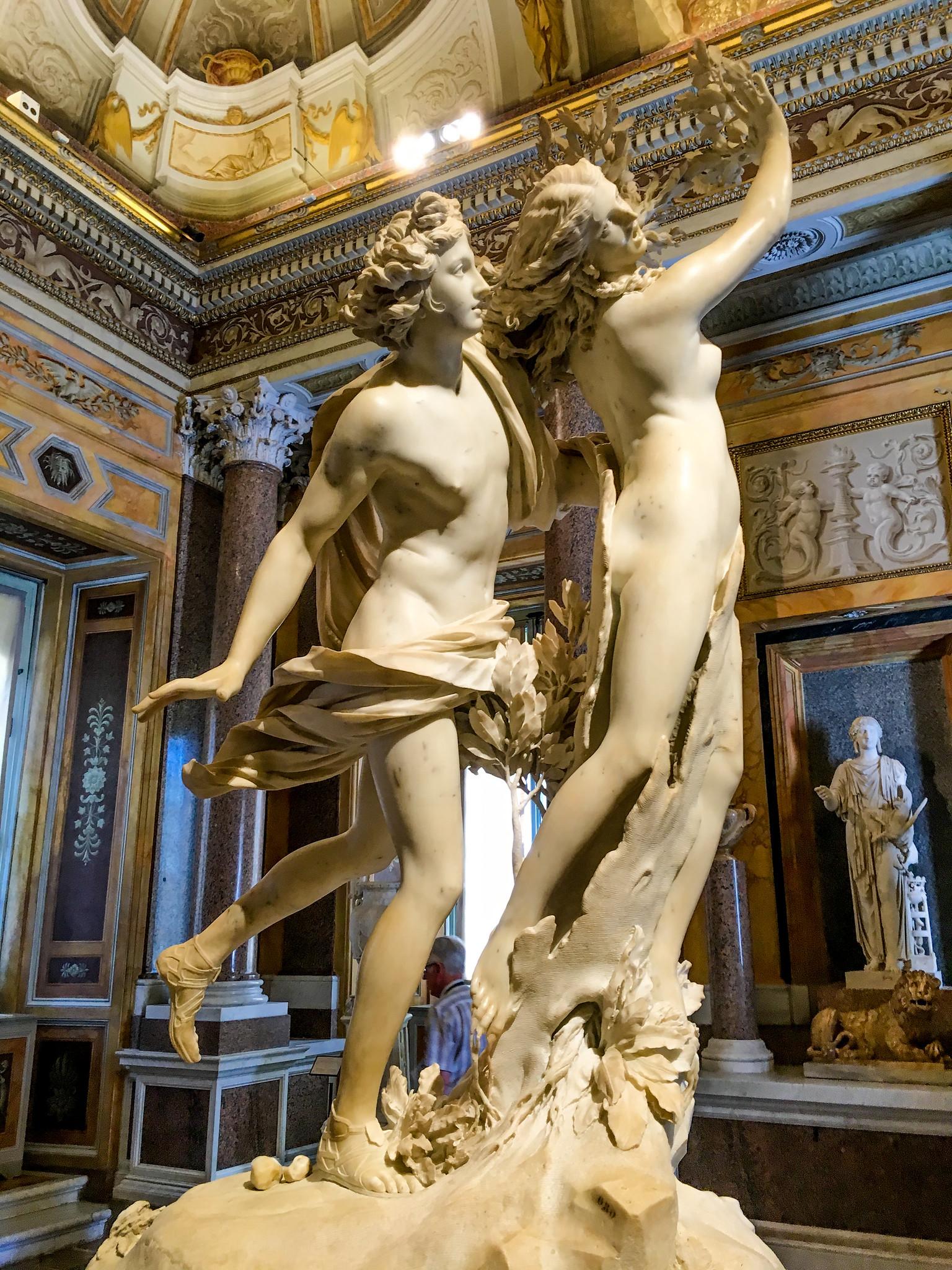 Apollon et Daphné, du Bernin