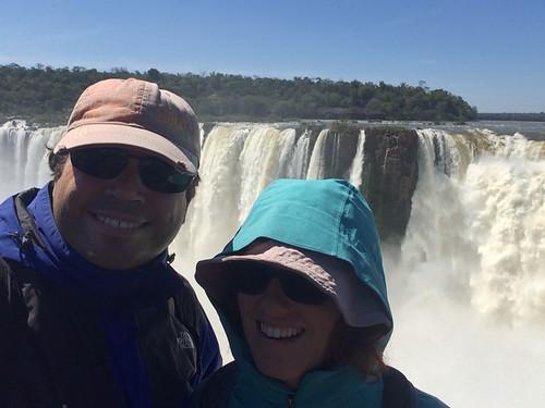 Les chutes d'Iguazu: la Garganta del Diablo