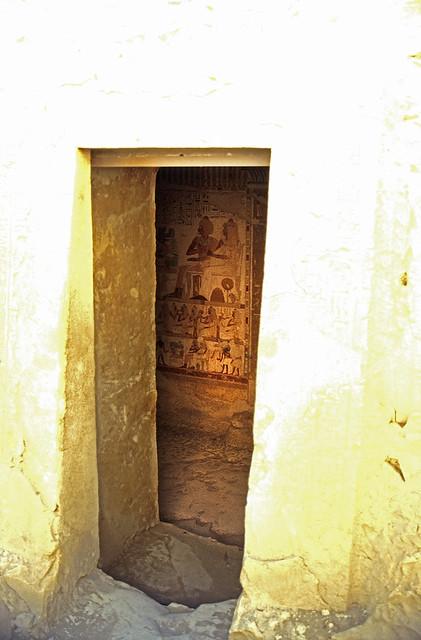 Ägypten 1999 (412) Theben West: Tal der Noblen, Al-Qurna