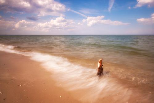 beach water sand waves afternoon maryland dreamy sly chesapeake calvert chesapeakebay calvertcounty flagponds
