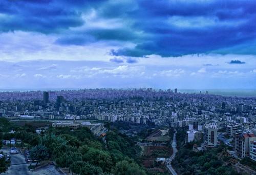 lebanon view panoramic beirut beyrouth liban