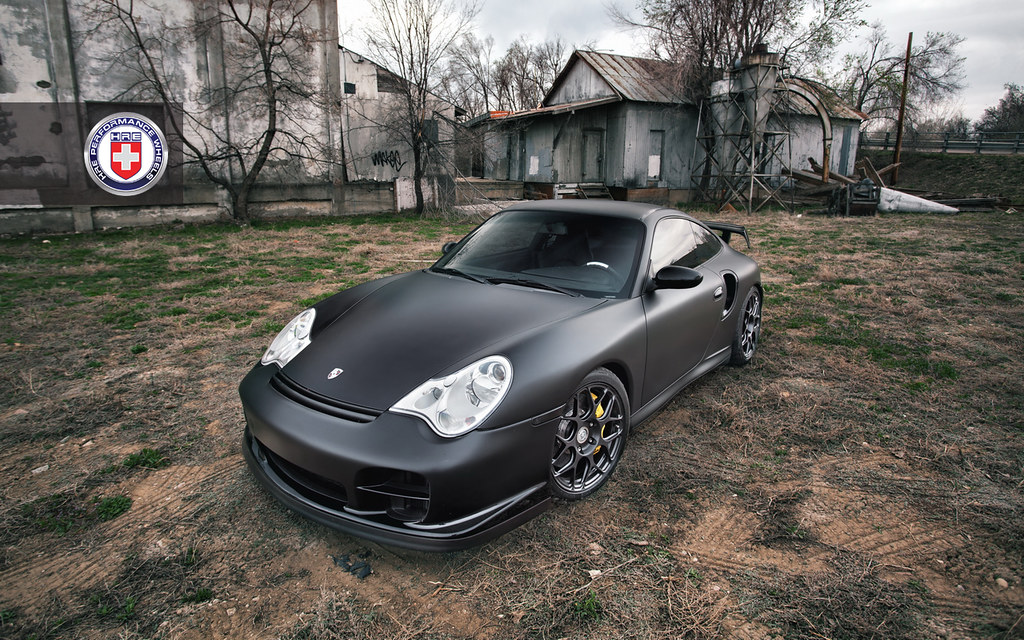matte black porsche gt2. Black Bedroom Furniture Sets. Home Design Ideas