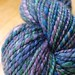 BFL/silk handspun from Widdershin Woolworks