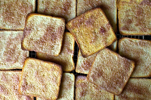 you get to make lots of cinnamon toast