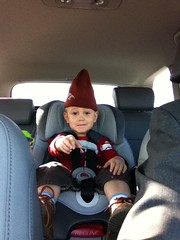 My son the Garden Gnomel