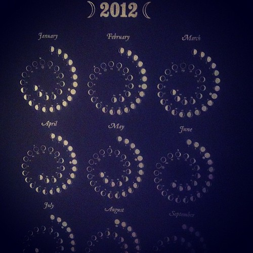 Ordered myself a 2012 lunar calendar, to be a better witch.