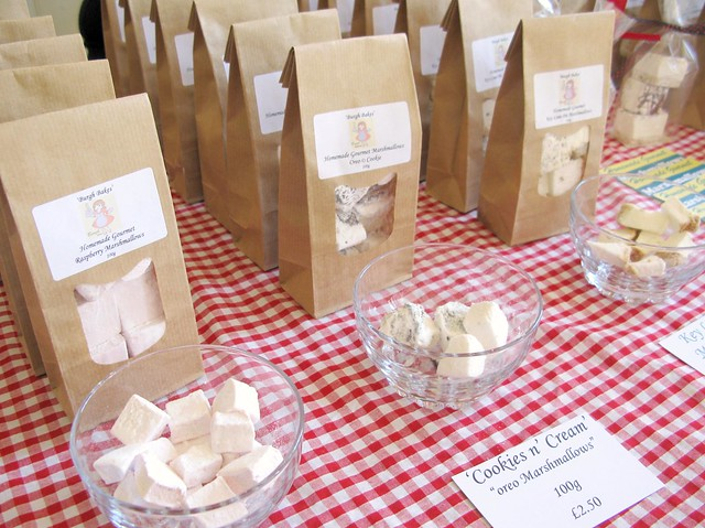 The Marshmallow Lady, Burgh Bakes at The Market, April 28th 2012 | Emma Lamb